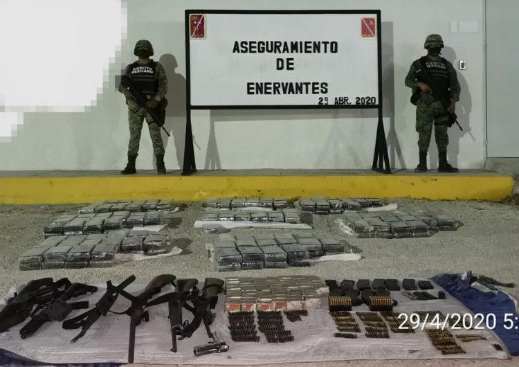 Aún con el Plan DNIII activo, el Ejército combate flagelo a mexicanos