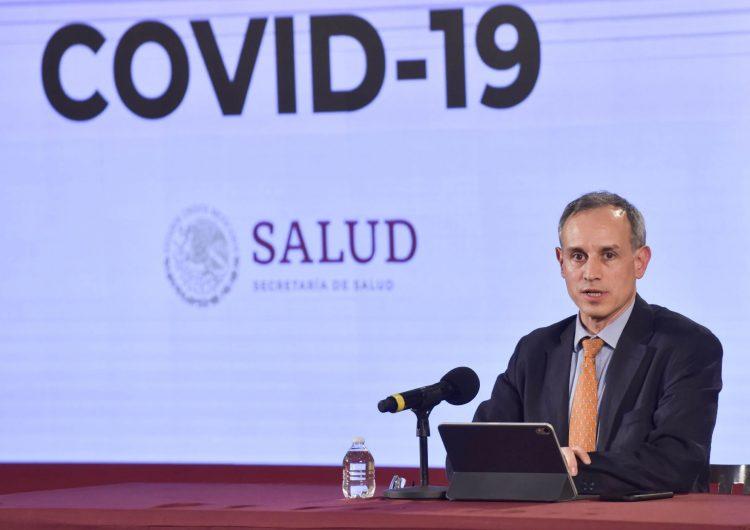 Salud estima más de 55,000 mexicanos con COVID-19; suman 486 muertos