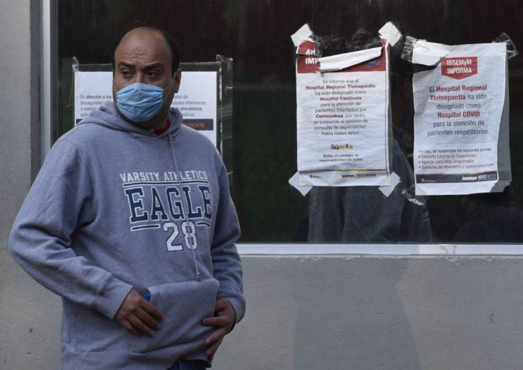 Más de 1,000 muertos por COVID-19 en México; hay 11,633 casos confirmados