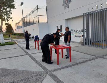 Reportan CERESOS de Aguascalientes saldo blanco en casos de Covid-19