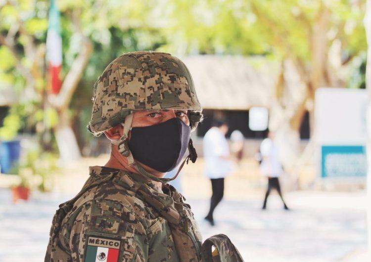 Vigila Guardia Nacional hospitales