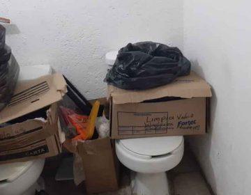 Pese a Covid-19, personal de Salud en Puebla labora en edificios abandonados y hacinados