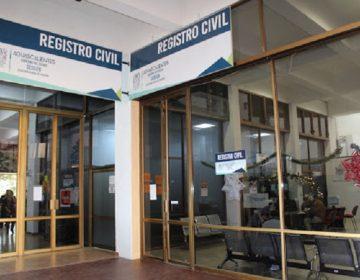 Suspenden servicio presencial del Registro Civil de Aguascalientes