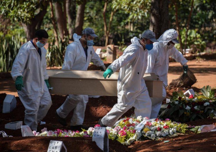 Se disparan contagios de COVID-19 en Brasil; reportan más 19,900 casos en un día