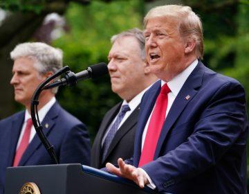 Trump da por terminada la relación de EU con la OMS