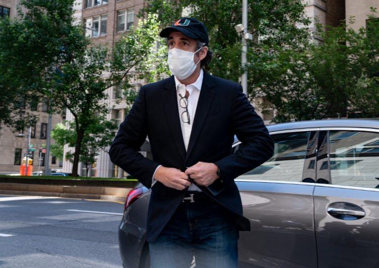 Exabogado de Trump, Michael Cohen, sale de prisión por la pandemia del COVID-19