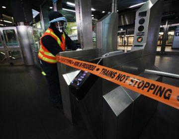 El Metro de Nueva York cierra por primera vez en su historia por trabajos de desinfección