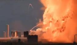 Explota prototipo del cohete Starship de SpaceX durante una prueba