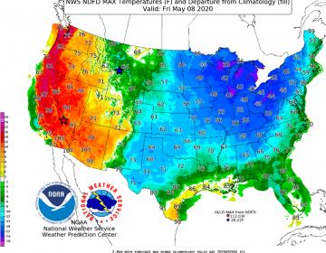 Dos climas en uno: vórtice polar provocará fríos y calores extremos en EU