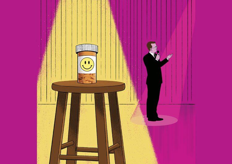 Receta de los comediantes contra la depresión