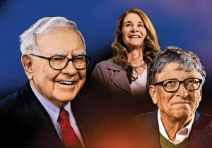Hace 10 años aceptaron donar la mitad de su riqueza. ¿Qué ha sucedido?