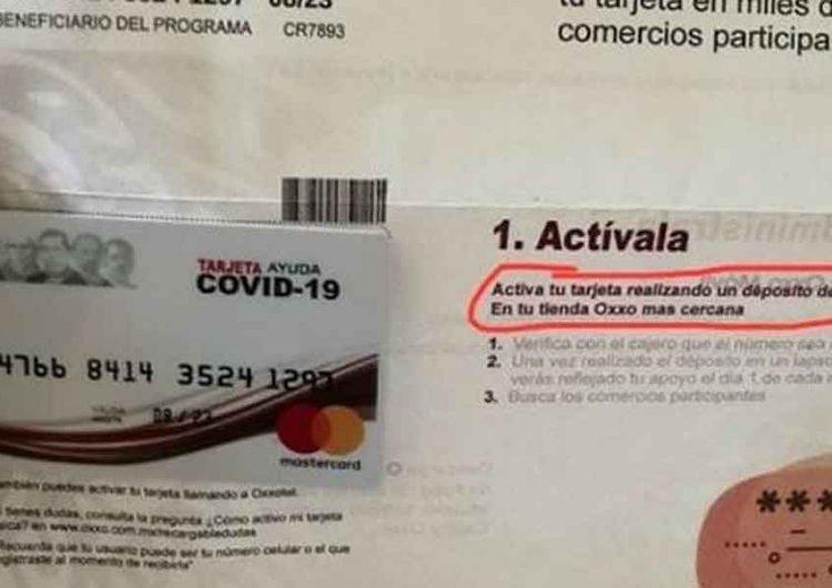 Estafaban con supuestos apoyos de tarjetas de Bienestar y el dinero lo sacaban en Puebla