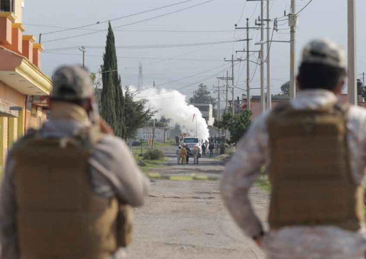 Evacuan a vecinos de Amozoc, Puebla por fuga de gas LP, era una toma clandestina
