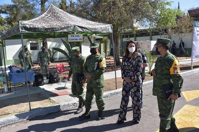Se reúne alcaldesa de Aguascalientes con nuevo comandante de la XIV Zona Militar