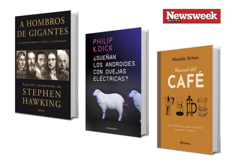 Tres libros: Stephen W. Hawking, Philip K. Dick, Nicolás Artusi…