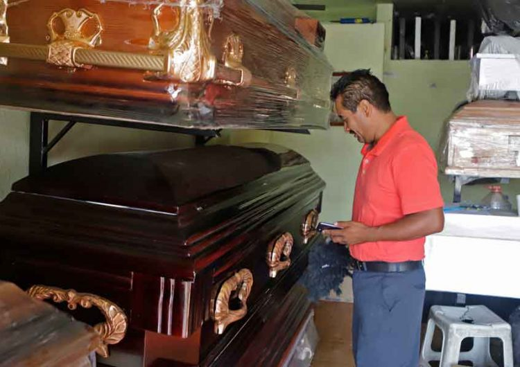 Más de 9 mil pesos cuesta un servicio funerario