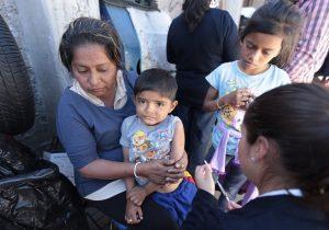 Difteria, sarampión, poliomielitis: enfermedades amenazan a 80 millones de niños