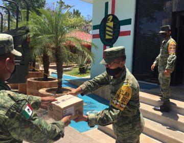 Llegan equipo médico a la Región Militar 10