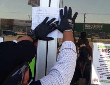Clausuran Burger King por violar Ley de contingencia sanitaria
