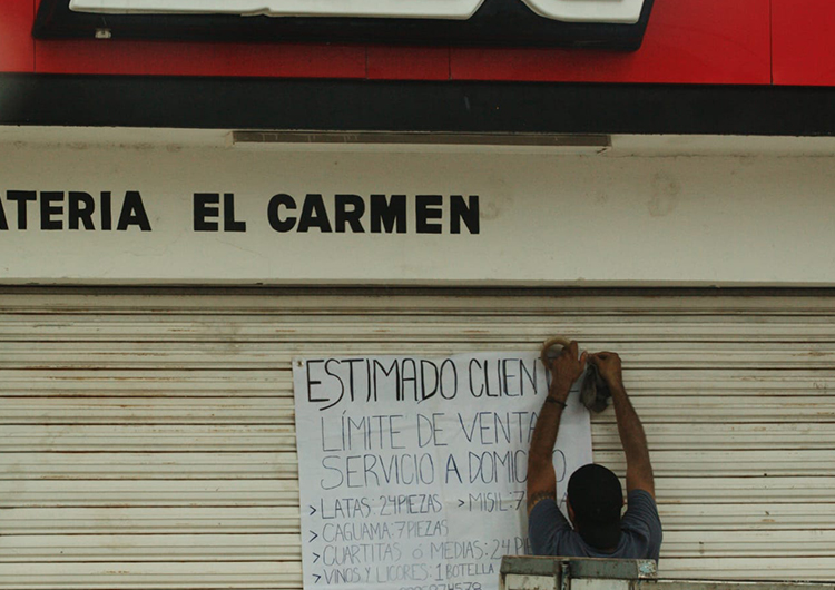 Solo venderán alcohol a domicilio en Yucatán