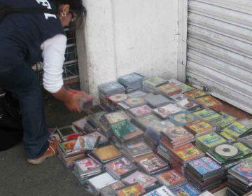 """Operativo en el mercado  """"La Fayuca"""" Puebla para evitar aglomeraciones"""