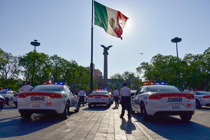 Entrega alcaldesa de Aguascalientes 115 nuevas patrullas