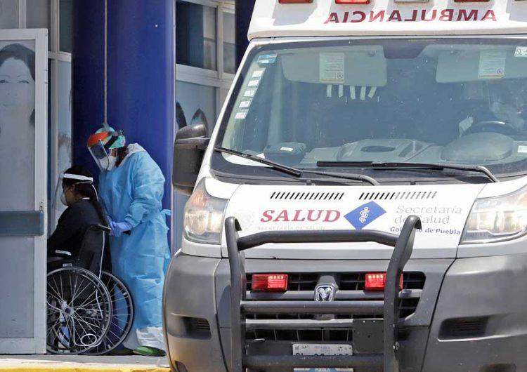 Puebla sin poder aplanar curva de contagio, 107 nuevos casos