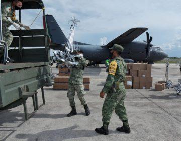 Entrega Ejército 6.6 toneladas de insumos médicos a Yucatán (Galería)