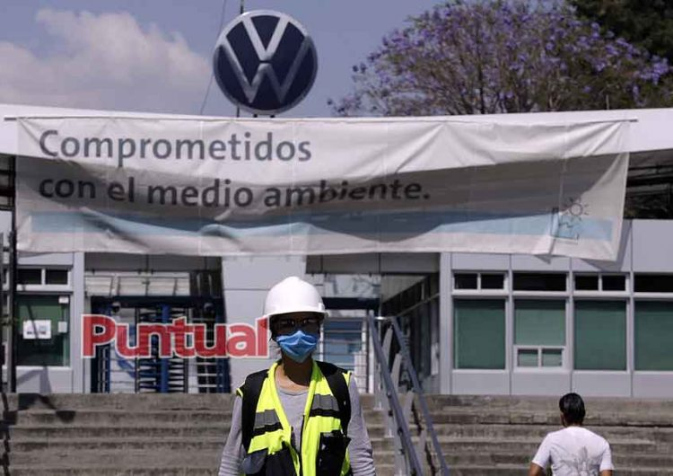 Sin despidos en Volkswagen por contingencia de Covid-19