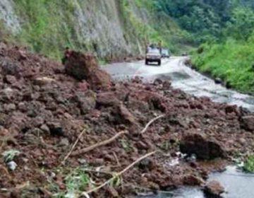 Tromba en Pantepec, Puebla, deja derrumbes y viviendas dañadas