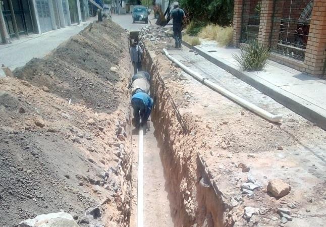 Rehabilitan red hidráulica de Corral de Barrancos en Jesús María