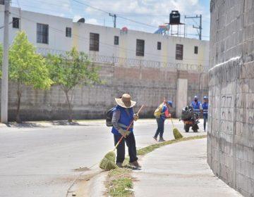 Realizan jornada de sanitización en el Fracc. Ruiseñores en Jesús María