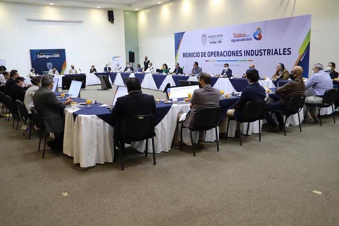 Se reúne Orozco con empresarios para definir estrategia de reactivación económica