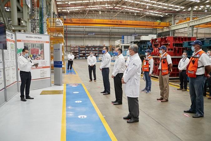 Inician operaciones nueve empresas del sector automotriz y textil en Aguascalientes