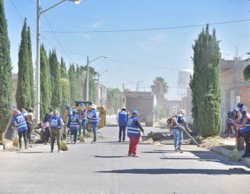 Realizan jornada de limpieza en Fracc. Paseos de las Haciendas en Jesús María