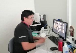 Realizan videollamadas de seguimiento a pacientes de Covid-19 del Hospital Hidalgo