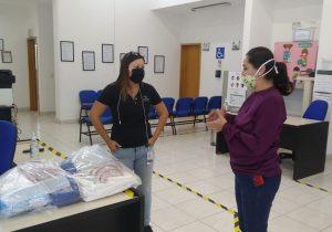 Entrega ayuntamiento de Jesús María equipo de protección a personal de UNEME CAPA