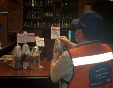 Clausura Guardia Sanitaria 40 comercios; antros y bares aún no pueden abrir