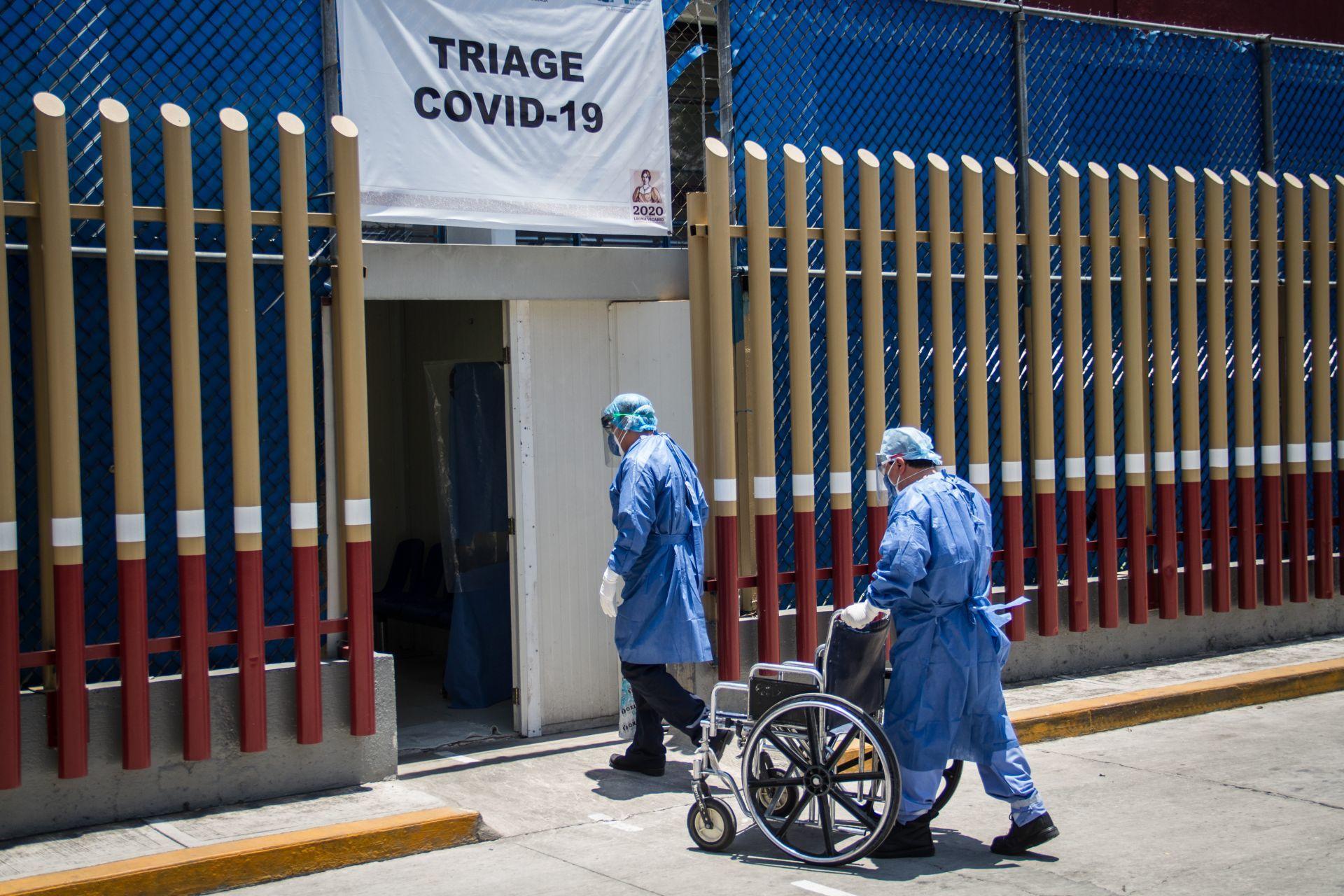 Coronavirus: México se acerca la pico con colapso sanitario
