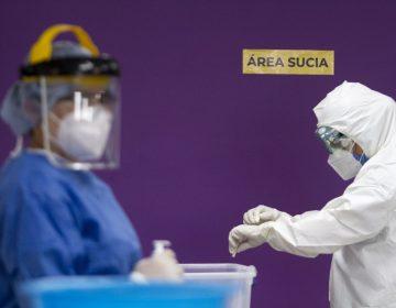 COVID-19: México registra 334 fallecimientos y 11,767 casos activos