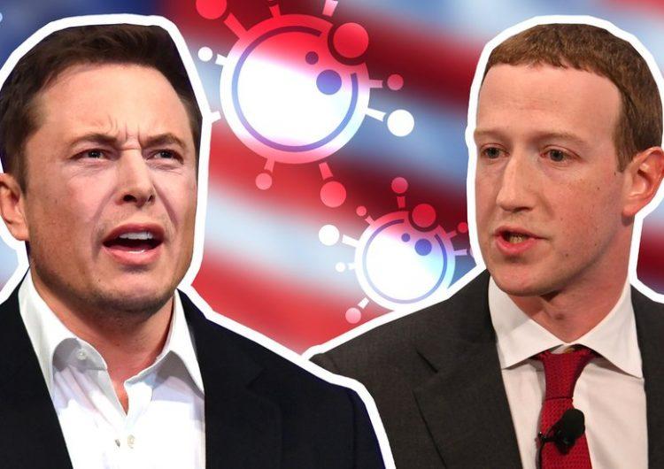 Elon Musk vs. Mark Zuckerberg: el choque entre los gigantes de la tecnología por la duración de la cuarentena por el coronavirus