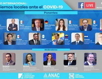 Representa Tere Jiménez a alcaldes mexicanos en foro internacional sobre Covid-19