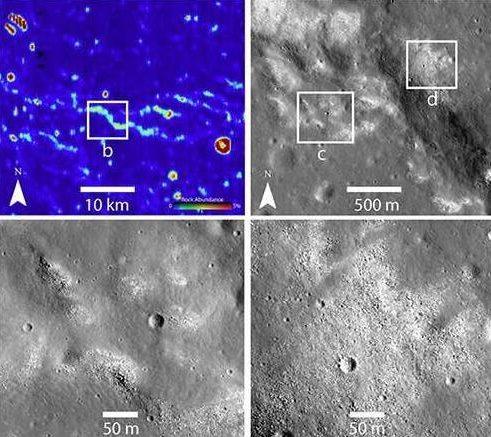 Existe evidencia de un sistema tectónico activo en la Luna