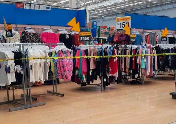 En Puebla, supermercados inhabilitan áreas de productos no esenciales