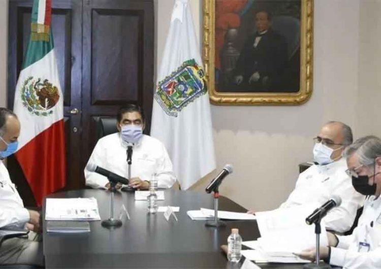 INSABI da números inflados a la Federación sobre apoyos Covid-19 a Puebla, acusa Miguel Barbosa