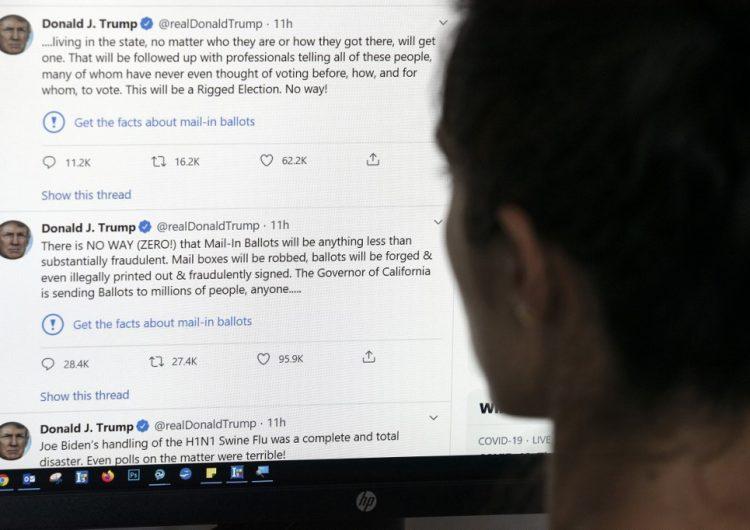 Twitter bloquea video tributo a George Floyd publicado por el equipo de campaña de Trump