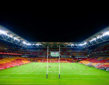 La foto de un asesino en serie 'se cuela' en la tribuna de partido de rugby