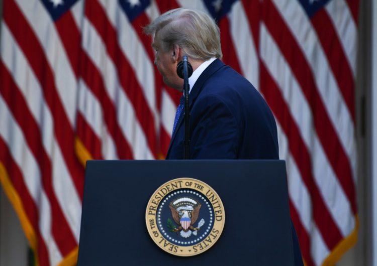 """Trump ordena despliegue militar para contener manifestaciones y vandalismo que considera """"terrorismo doméstico"""""""