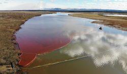Empresa rusa derrama 20 mil toneladas de combustible en el…