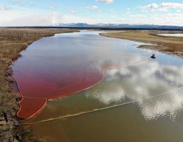 Empresa rusa derrama 20 mil toneladas de combustible en el Ártico